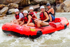 white water rafting cap field trip